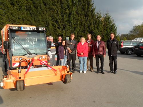 Gemeinde Scheyern kaufte ein Kommunalfahrzeug