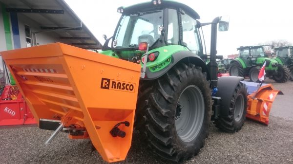 Rasco Mosor PK 3.0 am Agrotron 6160 C Shift