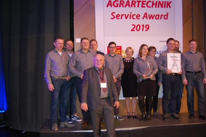 Agrartechnik Service Award 2019
