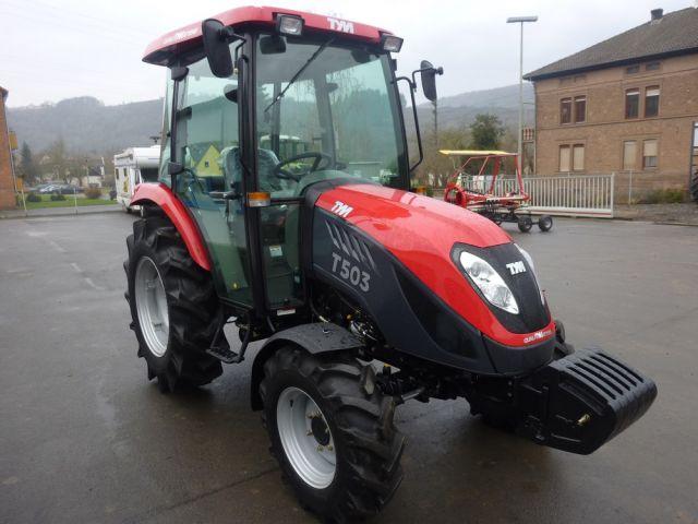 Universal-Traktor TYM, 50 PS, Kabine + Klimaanlage+Heizung+Radio+Dachluke, NEU !