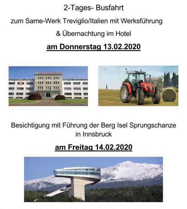 Werksbesichtigung 2020!