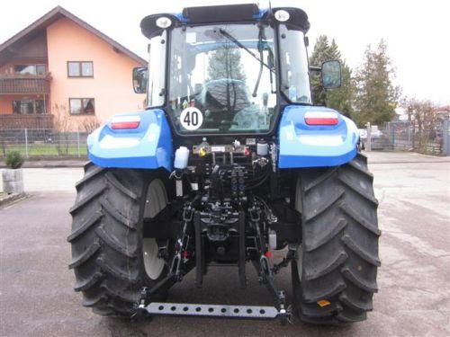 Neuer New Holland T5.105 mit Sauter Fronthydraulik