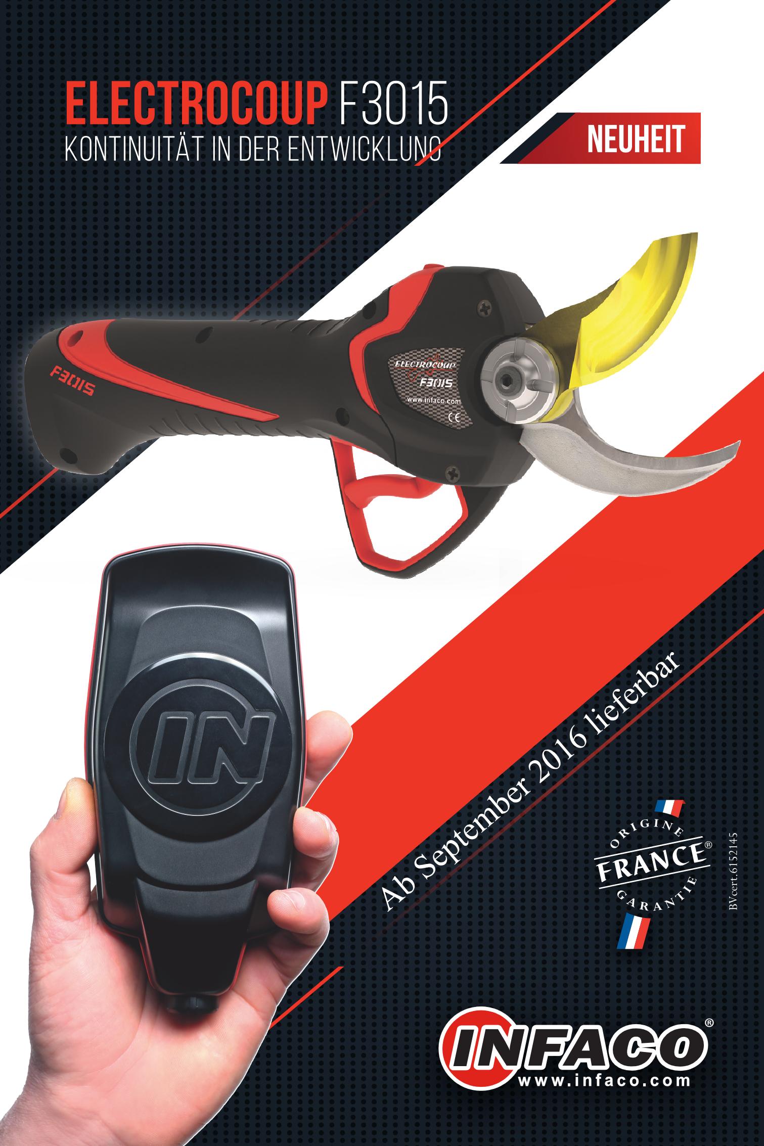 Neuheit electrocoup F3015