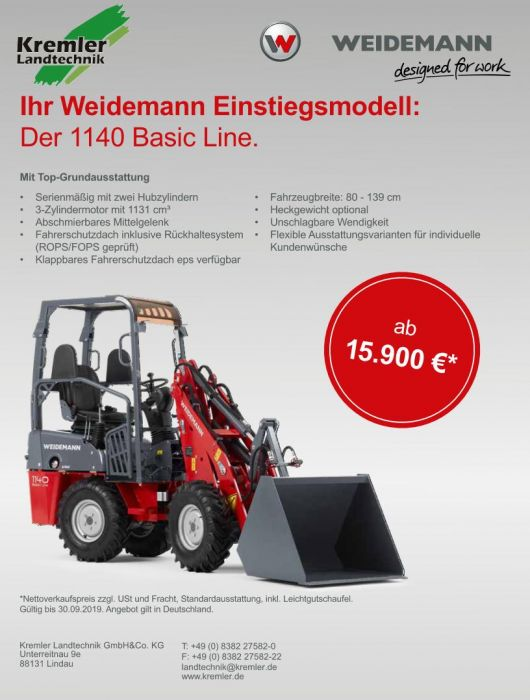 Weidemann Aktion