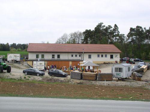 Holztag am Sägewerk Fürst in Azendorf