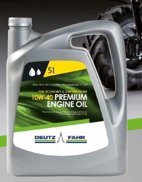 Ankündigung neuer Deutz-Fahr Motoröle