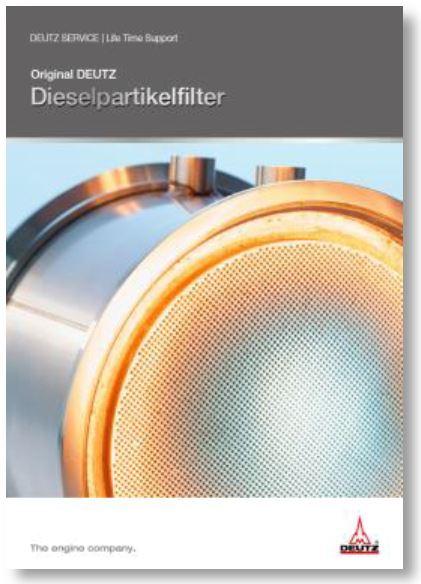 Original DEUTZ Dieselpartikelfilter