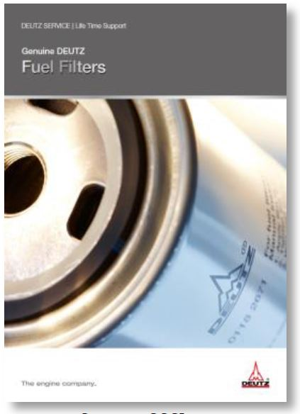 Original DEUTZ Kraftstoff-Filter
