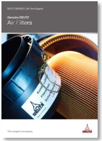 Original DEUTZ Luftfilter