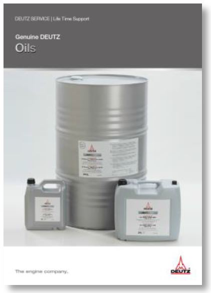 Original DEUTZ Öle