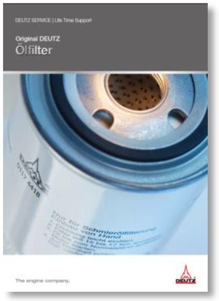Original DEUTZ Ölfilter