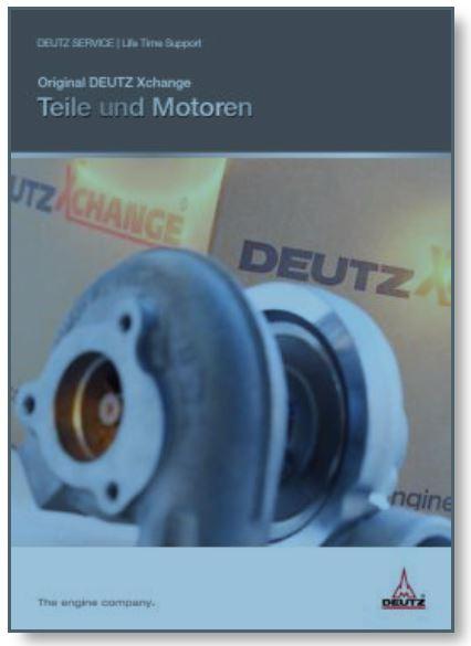 Original DEUTZ Xchange Teile und Motoren