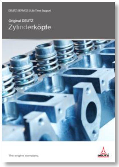 Original DEUTZ Zylinderköpfe