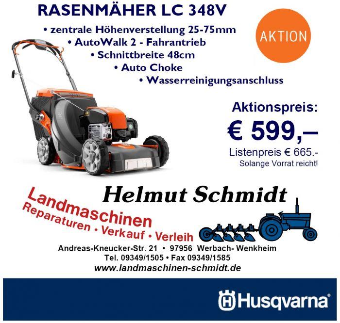 HUSQVARNA Rasenmäher LC348V zum Aktionspreis
