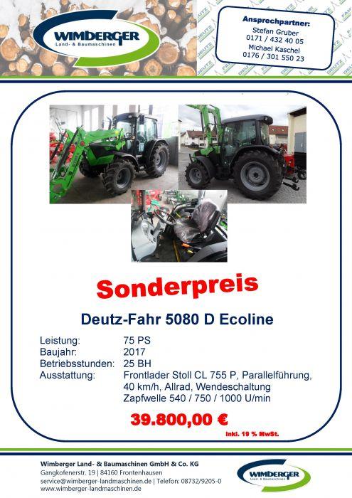 Deutz-Fahr 5080 D Ecoline
