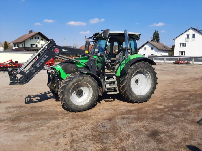 Maschinenübergabe Deutz-Fahr Agrotron K410