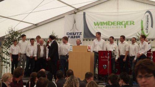 rauschende 90 Jahr Feier bei`m Wimberger!