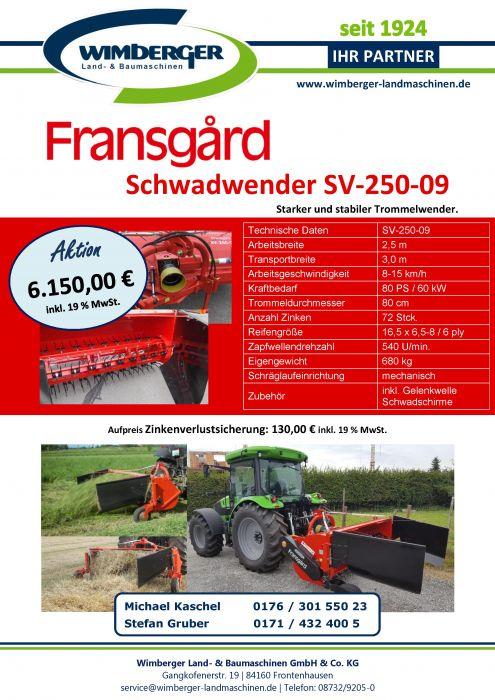 Aktion: Fransgard Schwadwender!