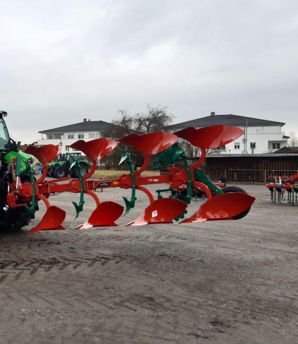 Machinenübergabe Kverneland 150 B-Pflug