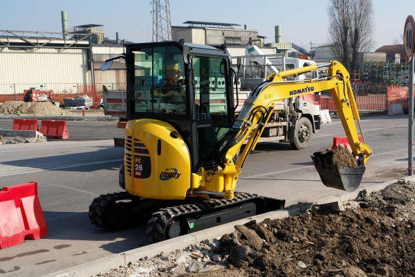 NEU: Vermietung von Klein- bis Großmaschinen: