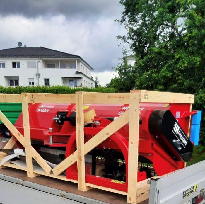 Übergabe Fransgard Schwadwender SV 250-09