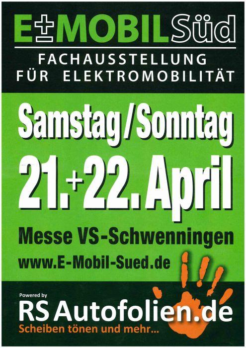 E-Mobil Süd Schwenningen 21.04. / 22.04.2018