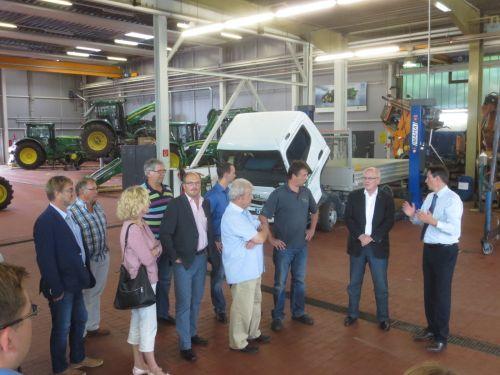 Besuch des CDU-Abgeordneten Volker Kauder