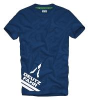 DEUTZ-FAHR T- SHIRT blau