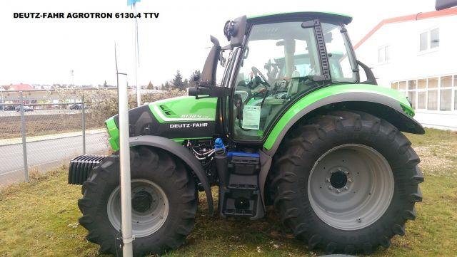 DEUTZ-FAHR 5130 TTV mit stufenlosem Getriebe