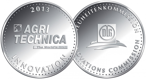DEUTZ-FAHR gewinnt zwei Silbermedaillen zur Agritechnica 2013