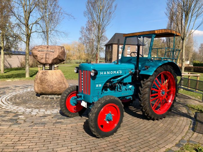 Oldtimer Hanomag R35