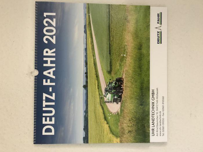 Deutz Fahr Kalender 2021