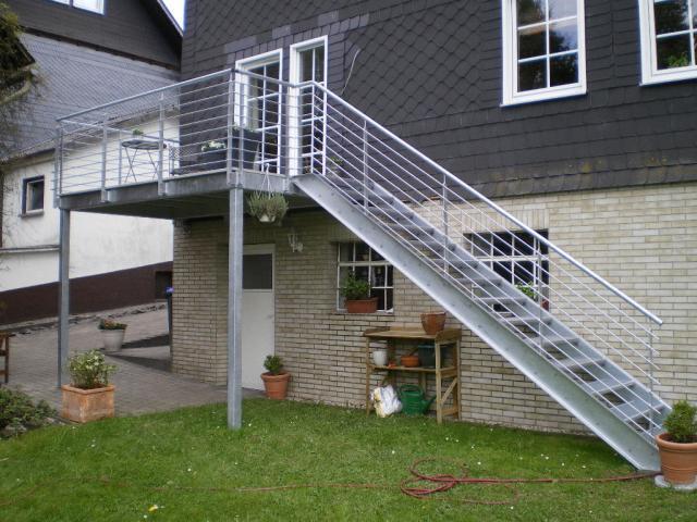 Balkon mit treppe anbauen: balkon mit treppe k?nigstein.