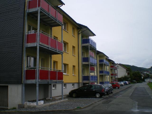 Balkontürme für Wohneinheit
