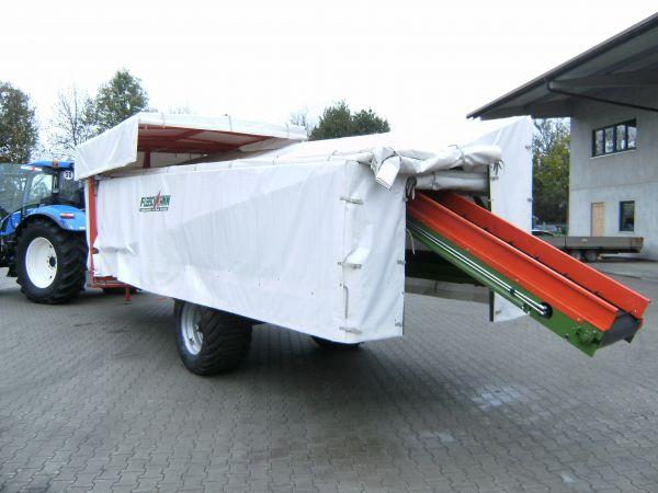 Erntewagen für Chinakohl und Salat