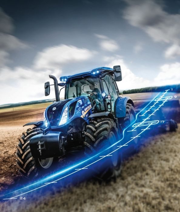 Markteinführung New Holland T6.175 Dynamic Command