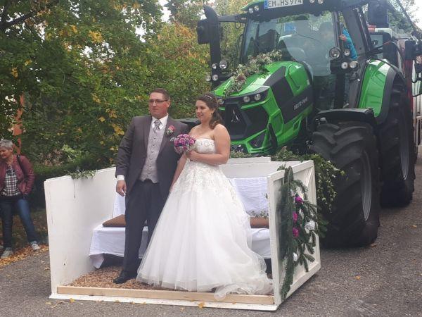 Und wieder wurde mit einem Deutz geheiratet