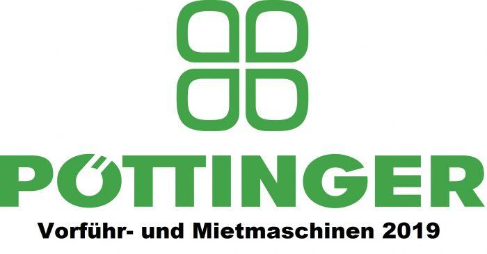 Pöttinger Vorführ- und Mietmaschinen 2019