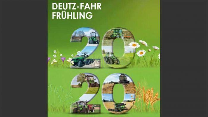 DEUTZ-FAHR FRÜHLING 2020 - Angebote