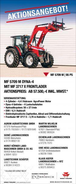 Aktionsanbebot - MF 5709